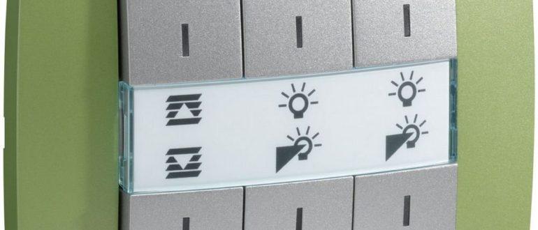 выключатель с регулятором яркости