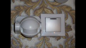 датчики движения на выключателе