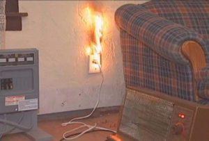 замыкание электропроводки
