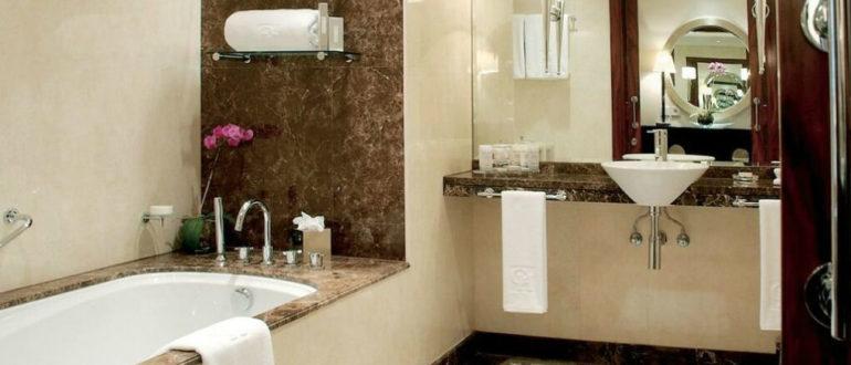 ванная комната и разводка кабеля