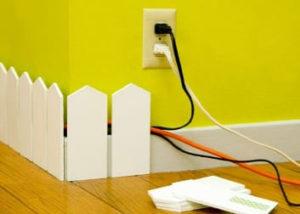 как спрятать проводку в квартире