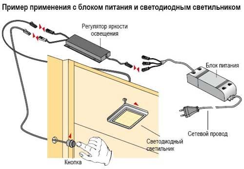 выключатели мебельные