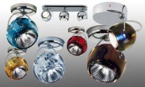 Установка светодиодных светильников в натяжной потолок