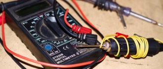 Как прозванивать провода